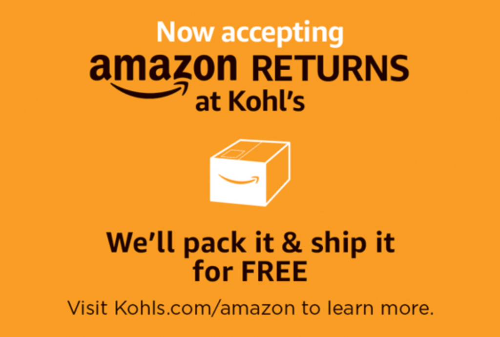 kohl's amazon prime returns