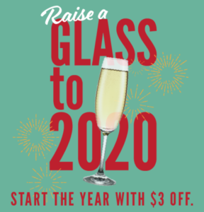 raise a glass to 2020 lucky's coupon
