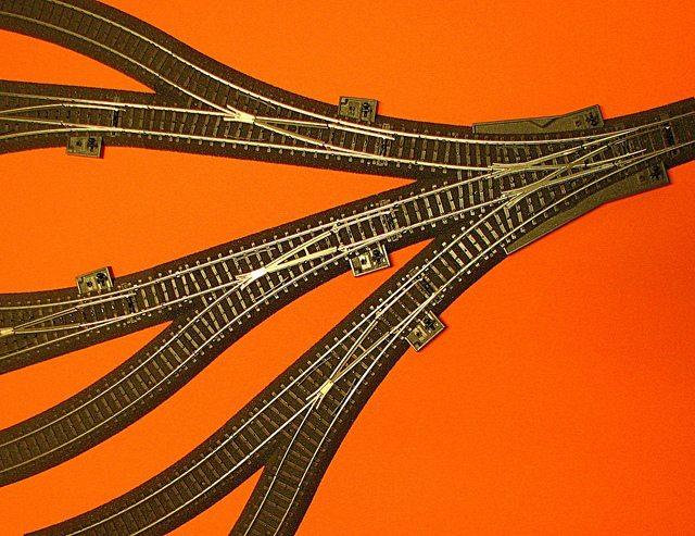 Train Tracks Converging