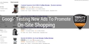 Advertiser Neutral Category Ads