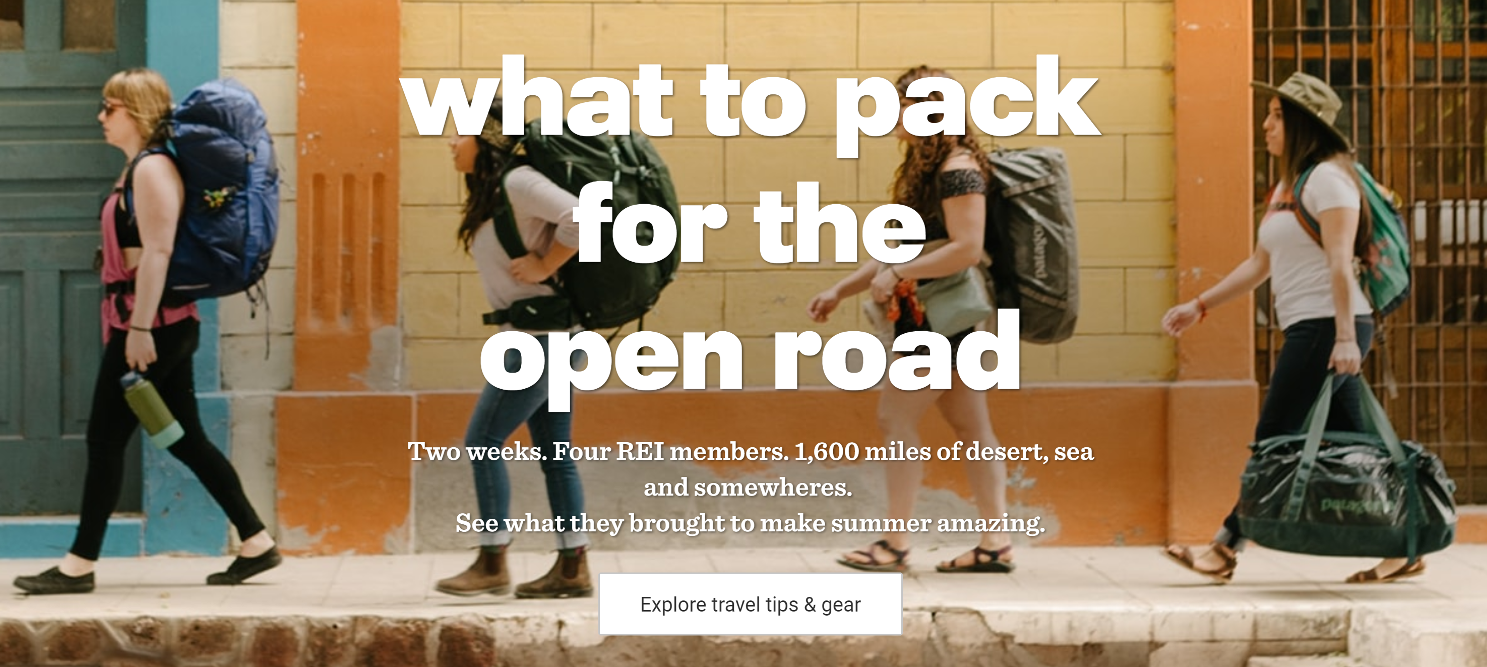 REI Experience marketing