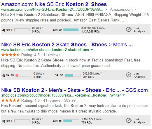 koston-2-SERP-screenshot